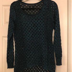 Rock & Republic Blue Sparkly Sweater